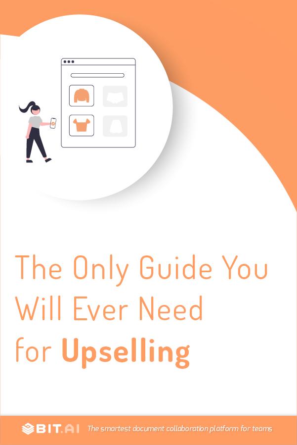 Upselling - Pinterest