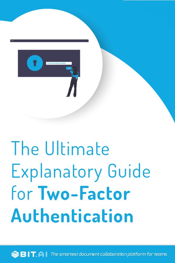 Two factor authentication - Pinterest