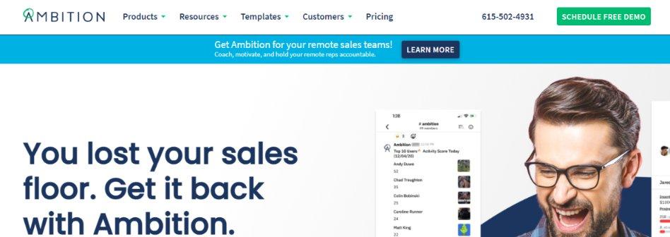 Ambititon: Sales management tool