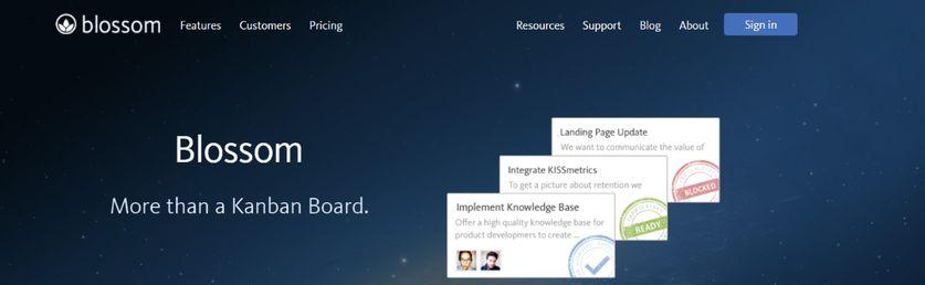 Blossom: Kanban tool and Software