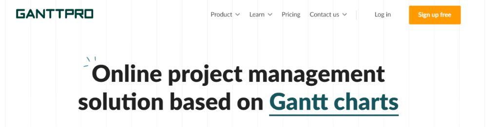 Ganttpro: Gantt Chart Software