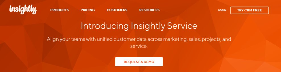 Insightly: Sales management tool
