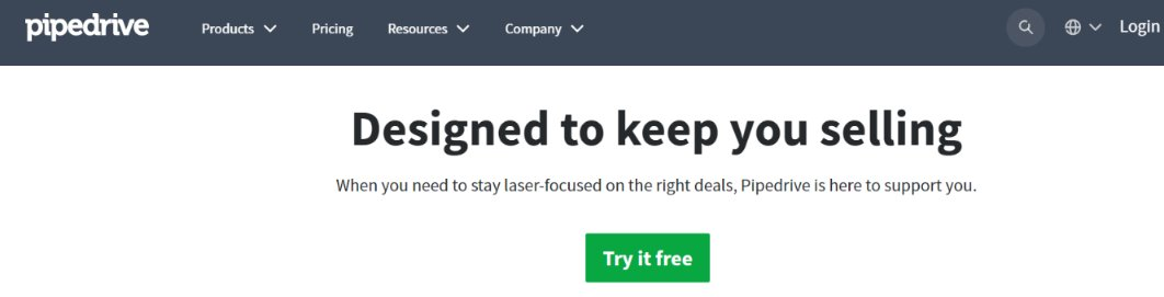 Pipedrive: Sales management tool