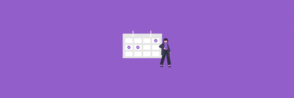 Editorial calendar - Blog banner