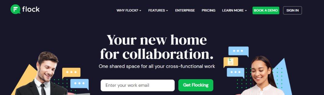 Flock: Team communication tools