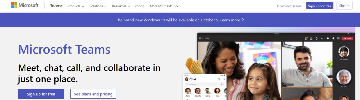 Microsoft teams: Team communication tools